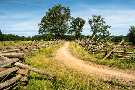 Gettysburg Battlefield Road photo