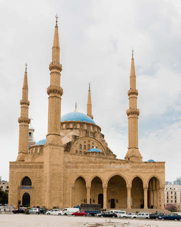 Now a landmark in Beiruts newly rebuilt central district, the Al Amine mosque has been inspired by the Blue Mosque in Istanbul. Lebanons former prime minister Rafiq Hariri supported the project. Editorial