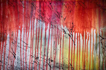 paint background: Fondo abstracto de la pintura del grunge del vintage