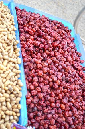frutas secas: Frutos secos y cacahuetes