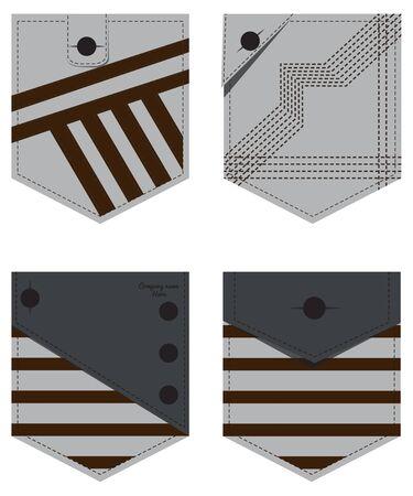 pocket: Denim Jeans Pocket illustration
