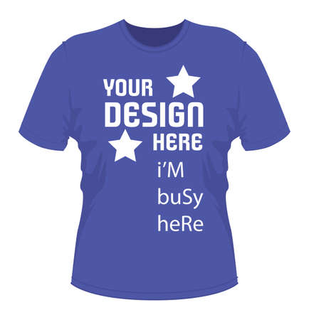 fully: T shirt design with text. vector EPS file fully editable Illustration