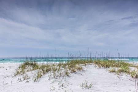 crashing: Crashing waves beyond the dunes