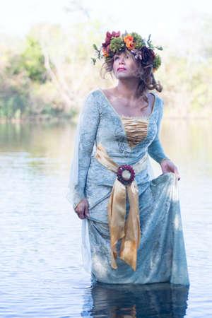 headress: Lady of the lake