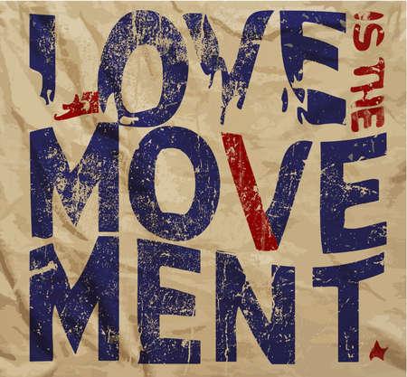 Liefde Slogan vintage T-shirt Grafische Vector ontwerp