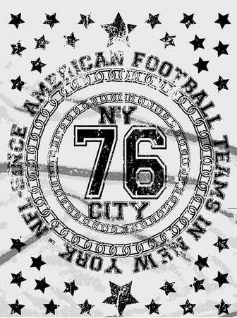 Emblem Man T shirt Graphic Design Vector