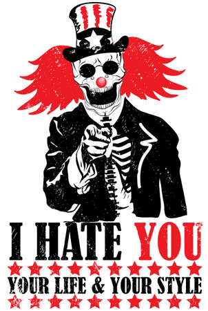 evil clown: Clown