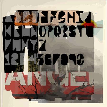 t shirt blue: Abstract art culture poster vector design Illustration
