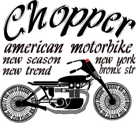 graphic: Vintage Motorcycle T-shirt Graphic