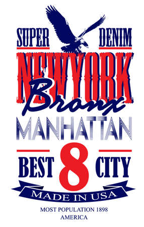 newyork: Newyork poster graphic vector design Illustration
