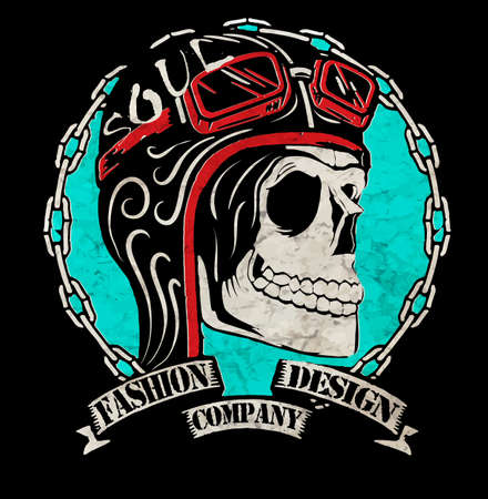 motorcycle: t-shirt graphics; motorcycle company
