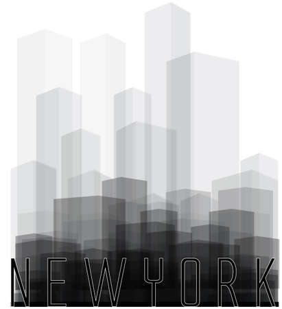 city scene: New york City silhouette
