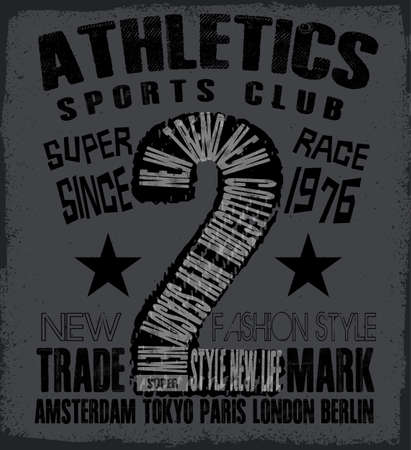 athletic: athletic sport tee graphic