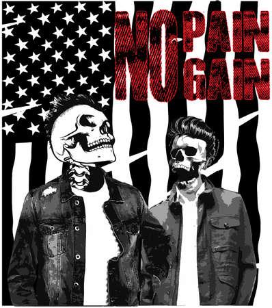 halloween tee shirt: Vintage Skull T shirt Graphic Design