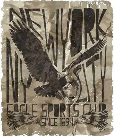 eagle sport tee graphic