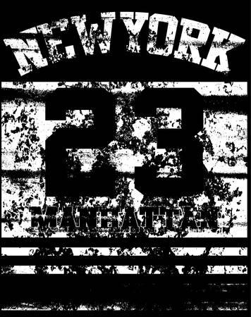 bronx: College New York typography, t-shirt graphics.