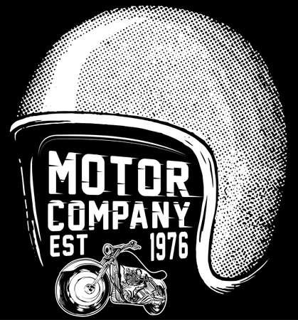 New york riders motorcycle club tee graphic design