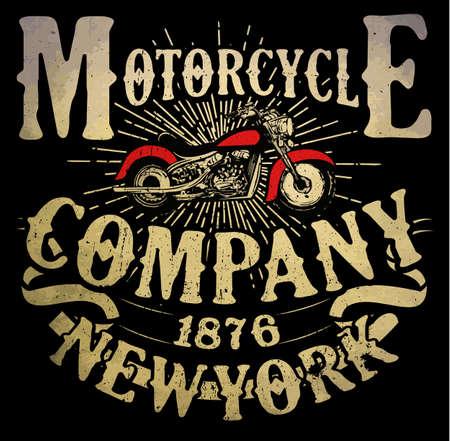 오토바이 티셔츠 그래픽