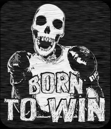increased: Skull T-shirts Graphic Designer