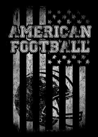 American football Varsity t shirt graphics vector graphics and typography t-shirt design