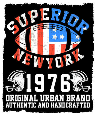 dept: Athletic Dept. New york; Varsity Sport vector print and varsity. For t-shirt or other uses in vector.T shirt graphic