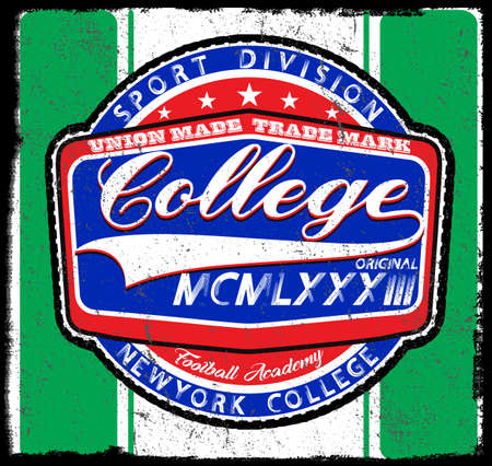 Athletic Dept. New York; Varsity Sport vector print and varsity. For other uses of t-shirts or shirts graphic vector.t