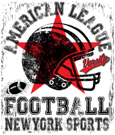 American football Varsity t-shirt graphics vector graphics and typography t-shirt design