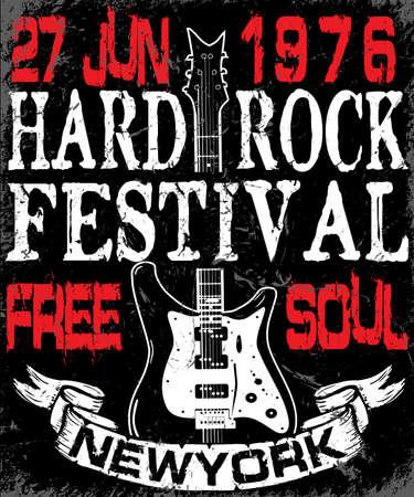 hardcore: Hard Rock Music Poster