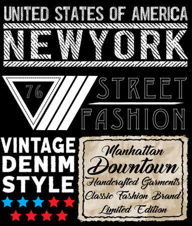 Newyork typografie t-shirt ontwerp