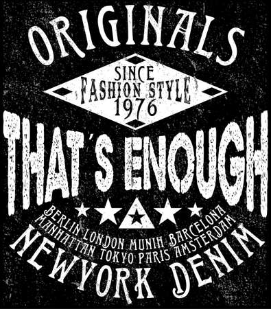 T shirt Design Fashion Logo