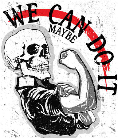We can do it Illustration
