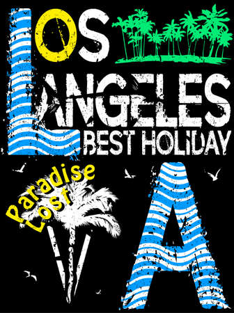 Los Angeles typography design
