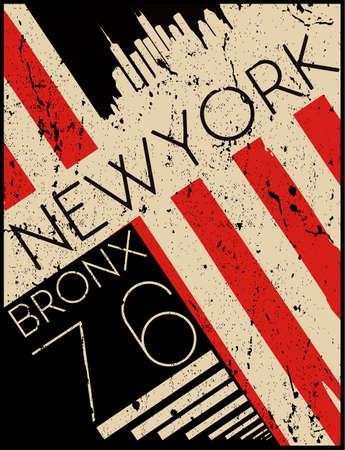 Newyork fashion tee tipografía diseño gráfico Foto de archivo - 87886033
