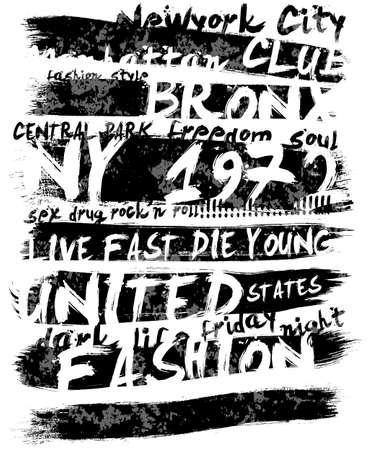 Vintage Slogan concept T-shirt Graphic Design illustration.