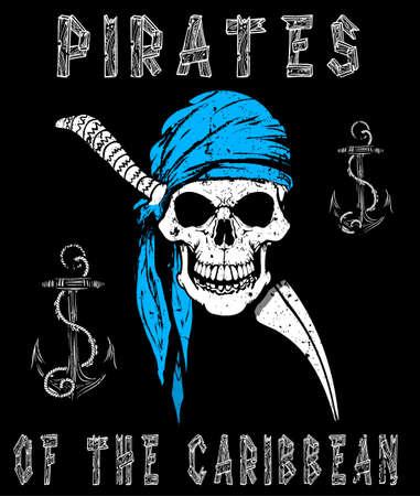 Skull Pirates Graphic Design