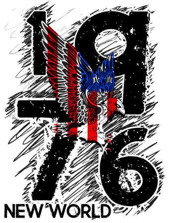 New York Athletic graphic design illustration.
