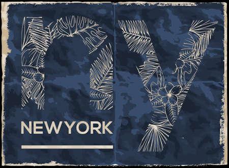 Newyork City graphic design