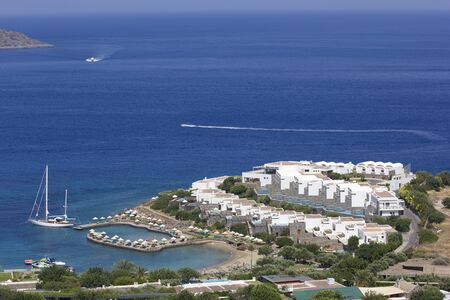 Active vacation at hotel resort (Crete, Greece) photo
