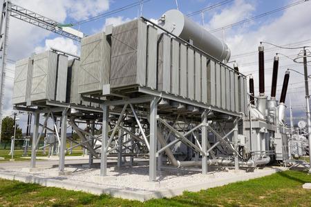 Phase angle regulating transformers Foto de archivo