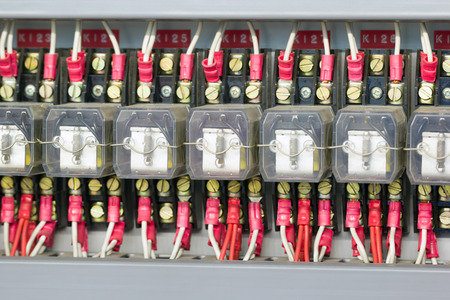 Industrial electrical relays.