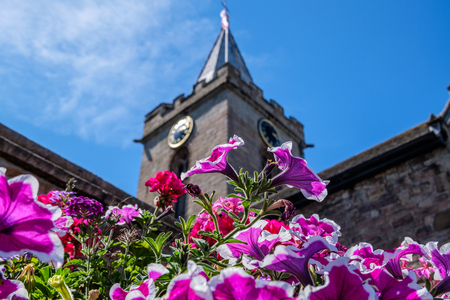 Town Church of St Peter Port, Guernsey, Channel Islands, United Kingdom