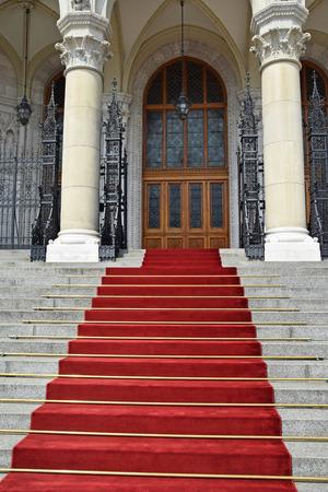 parliament building: Entrance of the Parliament building, Budapest