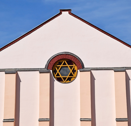 building feature: Wall of the synagogue