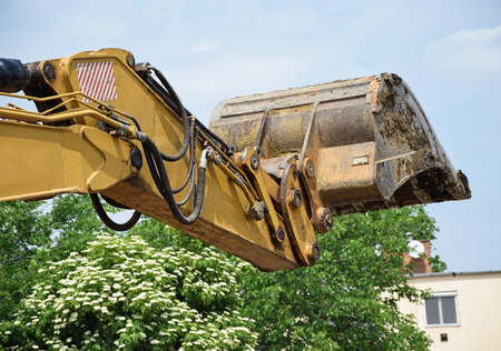 loader: Loader of the excavator