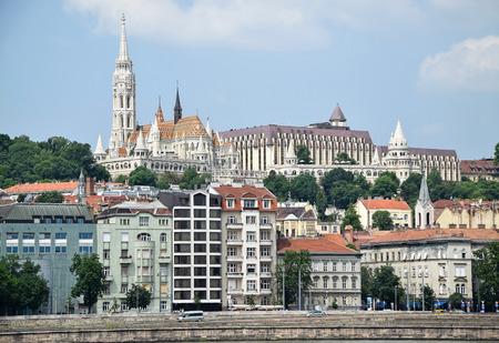 old  buildings: Old buildings of Budapest