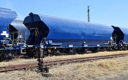 railway transportation: Fregight railway transportation Carriages