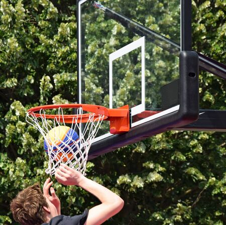 professional basketball league: Playing basketball