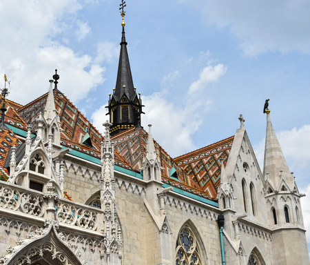matthias: Matthias church, Budapest, Hungary