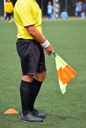 Soccer referee of the match