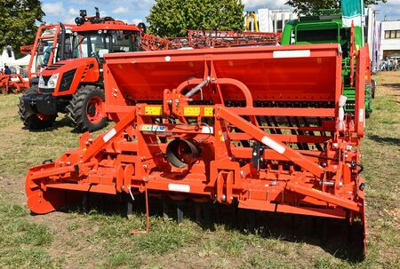 crop sprayer: Tractor and agricultural machinery at the fair